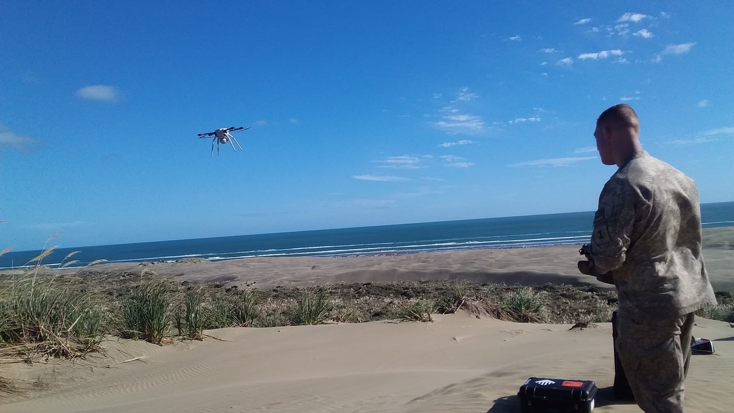 Drone at the Beach 2